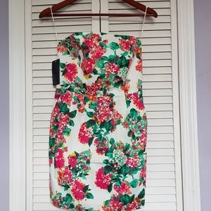 Floral ZARA sleeveless dress